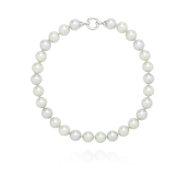 Pastel Blue and Green Pearl Necklace – Kate McCoy