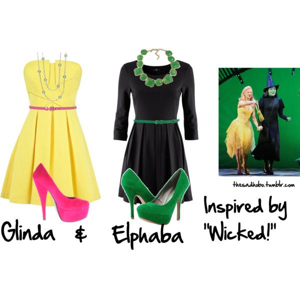 "@Rachel Andrews ""Wicked inspired fashion"" by erfquake on Polyvore"