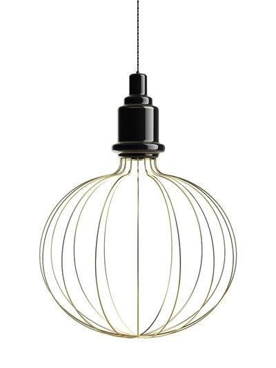 SIMONE MARIONI - LARGE EDISON B CERAMIC SUSPENSION LAMP