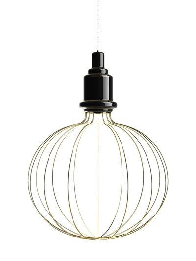 SIMONE MARIONI - LARGE EDISON B CERAMIC SUSPENSION LAMP