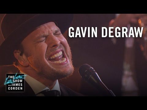 """Late Late Show music guest Gavin DeGraw performs """"Making Love with the Radio On"""" for the audience. More Late Late Show: Subscribe: http://bit.ly/CordenYouTub..."""