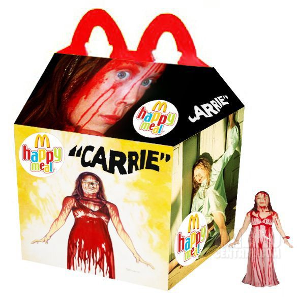 Pink Slime Is the Last Thing You Need to Worry About in These 'What If' McDonald's Horror Happy Meals