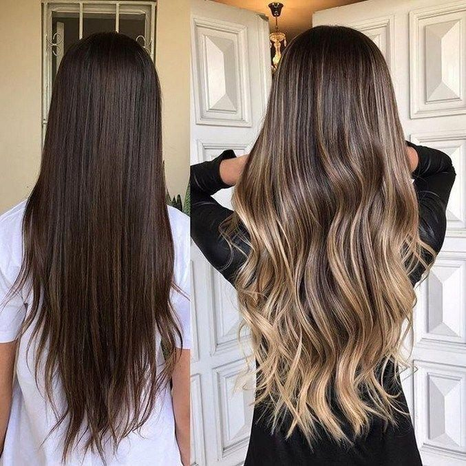 10 Medium To Long Hair Styles Ombre Balayage Hairstyles Ideas For Women 2019 55 Mediumhairstyleideas Balayage Hair Long Hair Styles Hair Styles