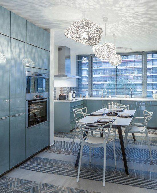 Light Blue Kitchen Cabinets Von Andox78 Mehr Sehen