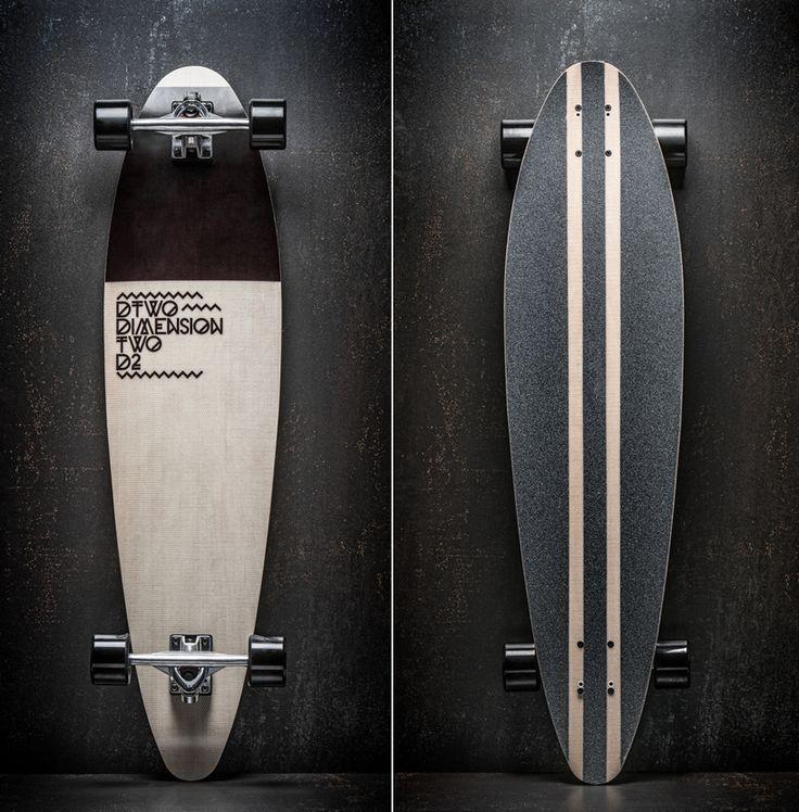 Dimension two longboard