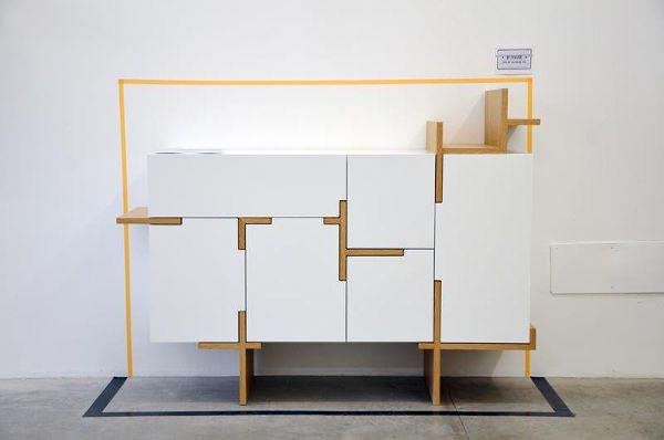 Buffet ramifié par Filip Janssens - Blog Esprit Design