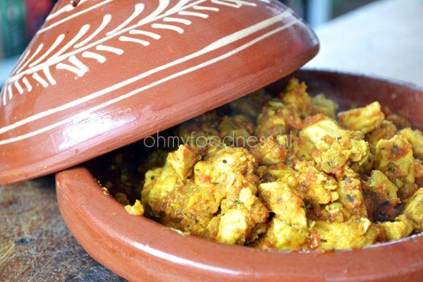 Marokkaanse kip uit de tajine - OhMyFoodness