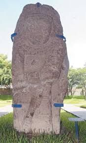 Virgen del Tazumal,Ruinas del Tazumal, Chalchuapa, El Salvador.