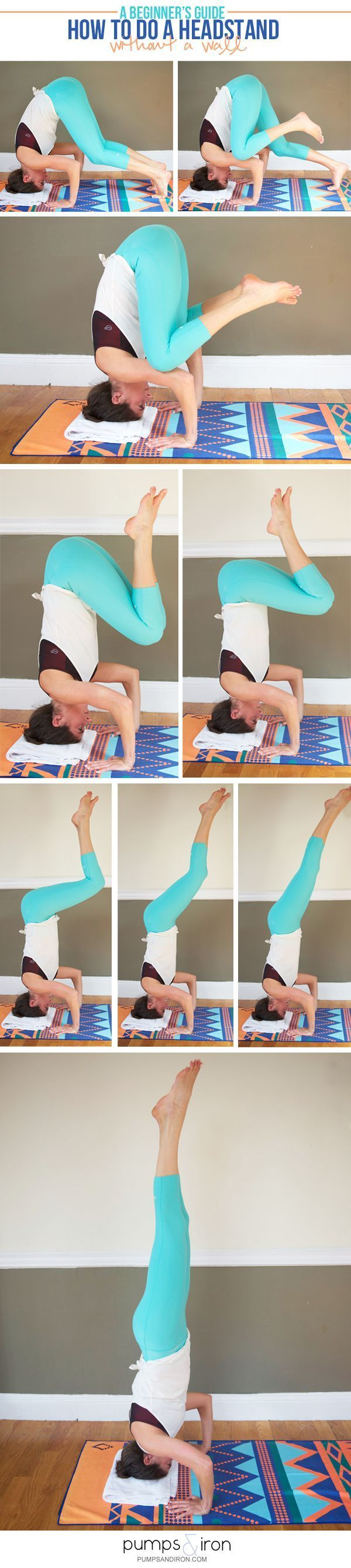 How to Do a Headstand without a Wall -- there are lots of ways to get into a…