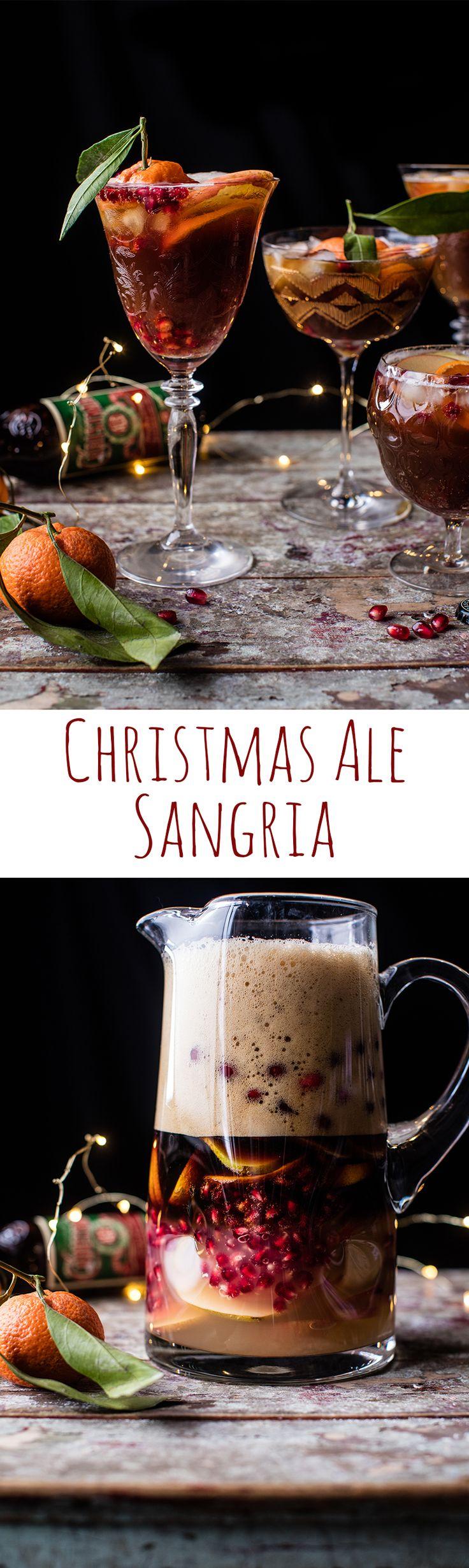 Christmas Ale Sangria | halfbakedharvest.com @hbharvest
