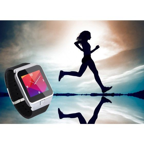 """Bluetooth 3.0 Smart Watch Phone 1.63"""" Touch Screen 64MB RAM + 128MB ROM MTK6260 Call Sync Voice Recorder Pedometer Sleep Monitor Looking Phone Anti Lost Sedentary Reminder"""