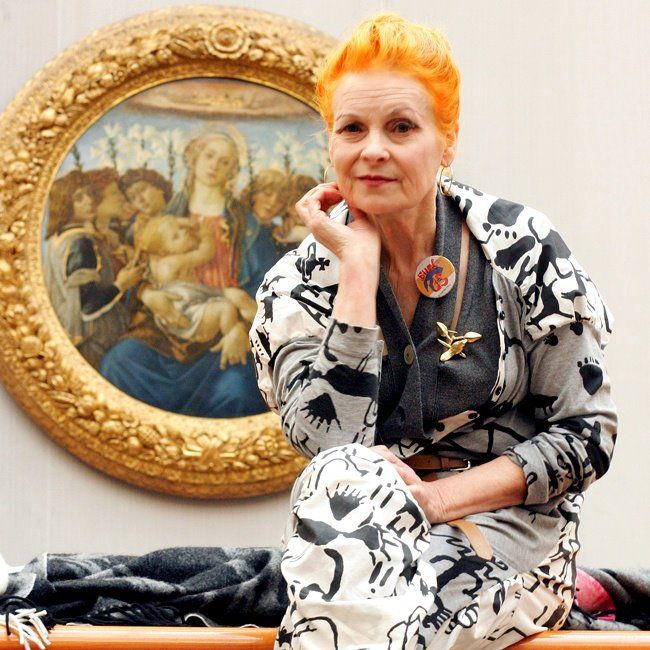 Great fashion designer Vivienne Westwood on the housing bubble in London: 'Why does a flat in London cost x times a flat in Milan? Asked my Italian colleague. Speculators: London is being crammed with high-rise luxury apartment blocks which are empty.'