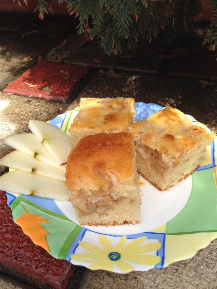 Prăjitură cu mere 🍏🍏🍏