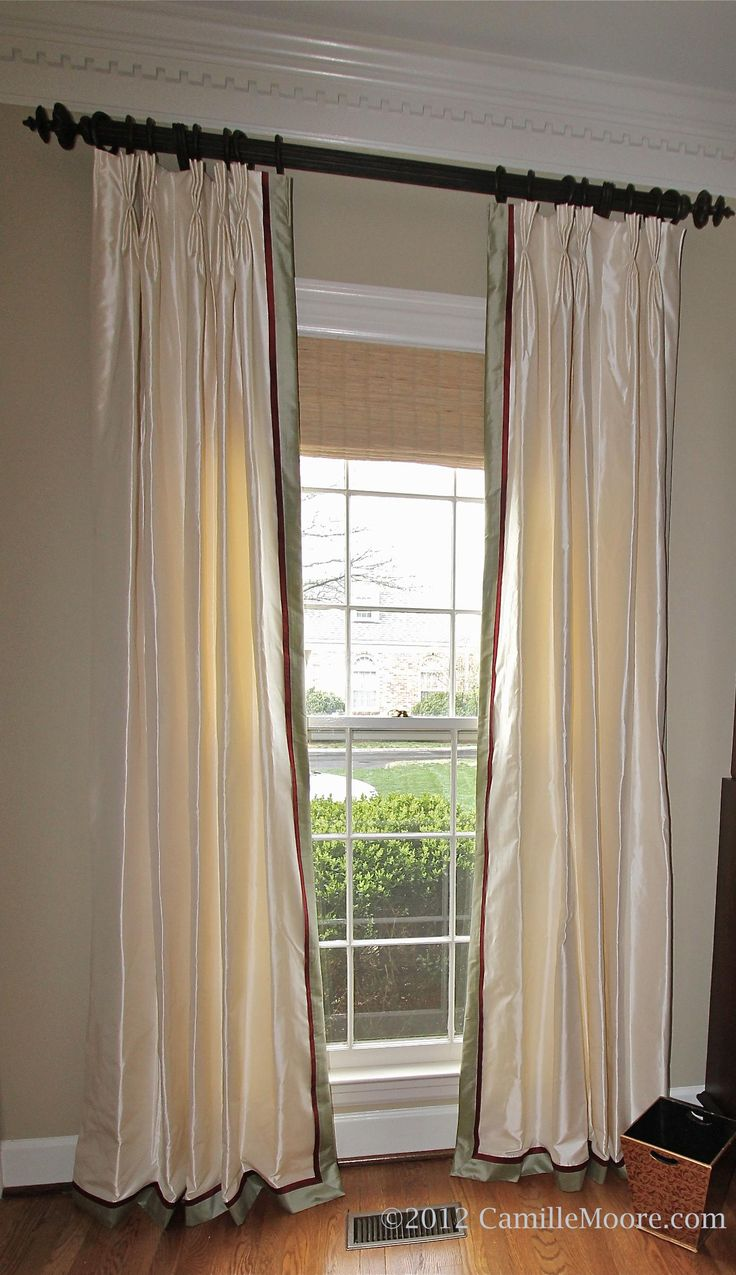 59 Best Images About Drapes Banded On Pinterest Window Treatments Monday Motivation And Tab
