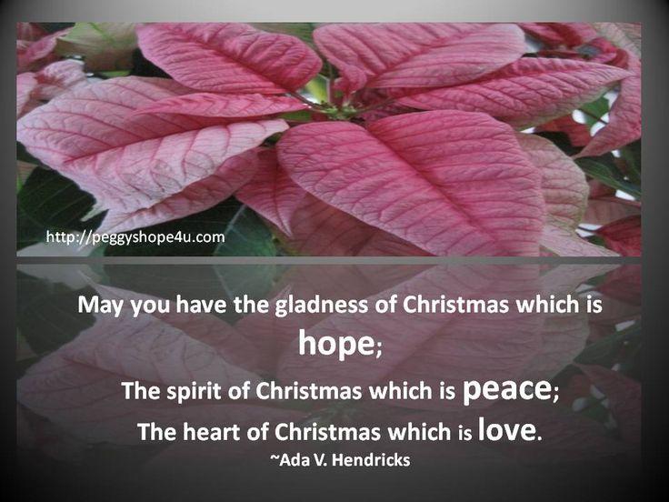 #Christmas #hope  #Peace   #love