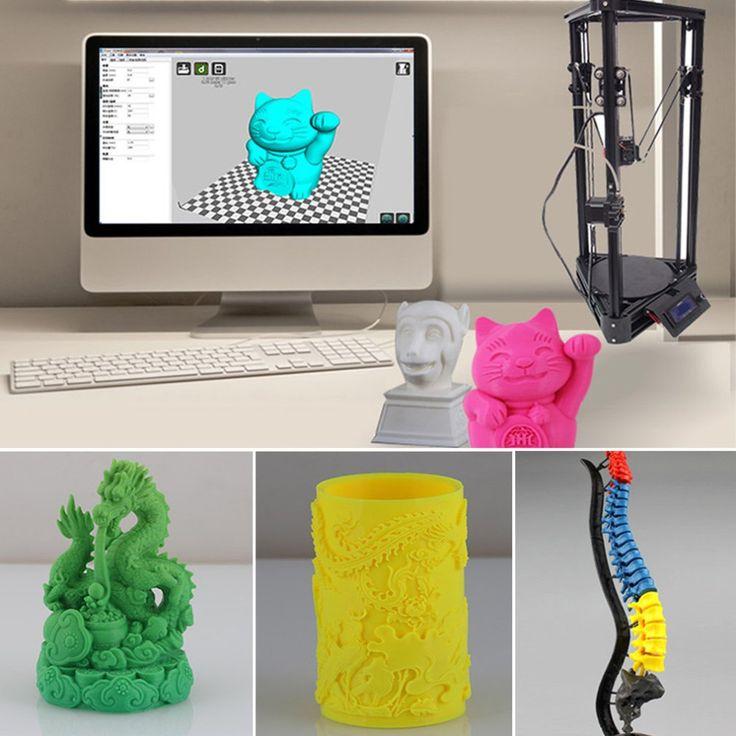 3D Printer X-P9 Desktop DIY Kit Triangle 3D Printer 3D Metal Printer For Construction Field Medical Field Educational Field //Price: $0.00//     #gadgets