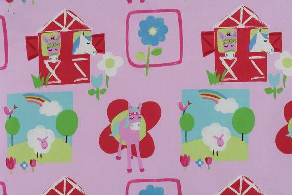 James.Dunlop.Textiles.Pretty.Ponie.Cerise.01.of.03