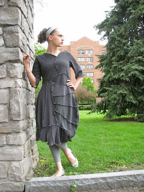 musique concrete reconstructed dress by Secret Lentil, via Flickr