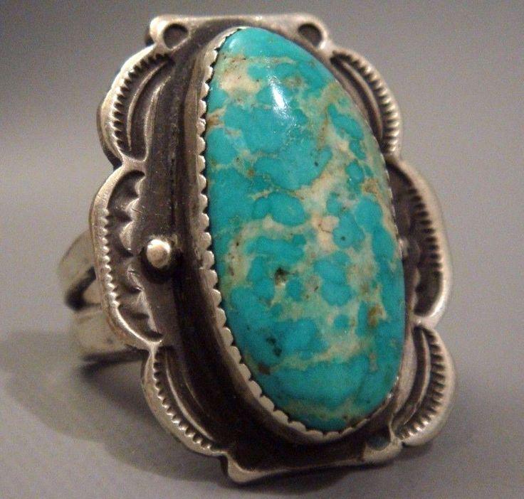 Http Www Treasuresofthesouthwest Com Turquoise Rings Html