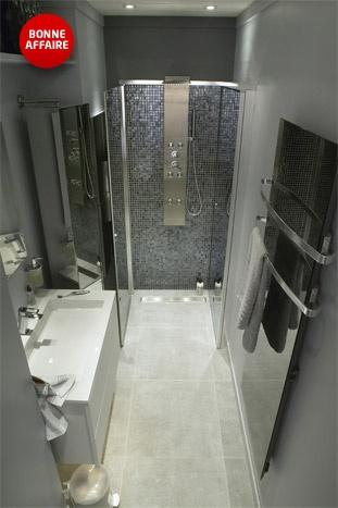 Ma salle de bains petits espaces.