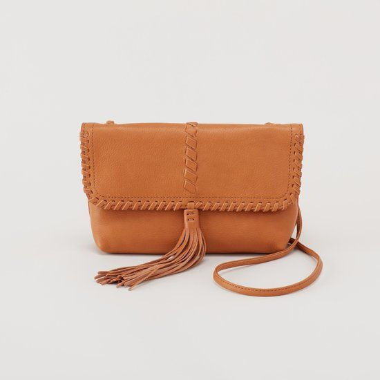 """Check out """"Bramble Soft Leather Whipstitch Artisan Crossbody"""" from Hobo Bags"""