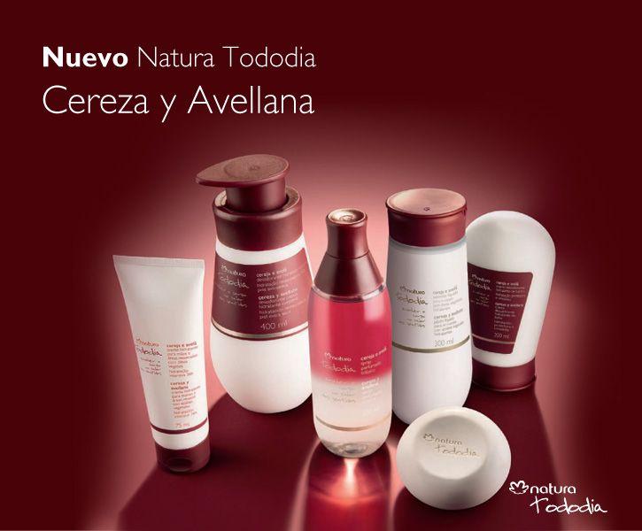 Productos Natura Tododia Cereza y Avellana