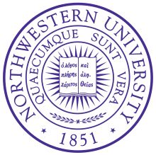Northwestern University is a private research university with campuses in Evanston and Chicago in Illinois, United States
