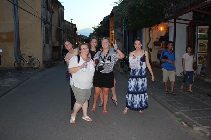 Excited to go shopping. #VietnamSchoolTours #HoiAn