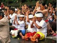 Bijzonder om mee te maken: Balinees-hindoeïstische tempel ceremonie in Bali.