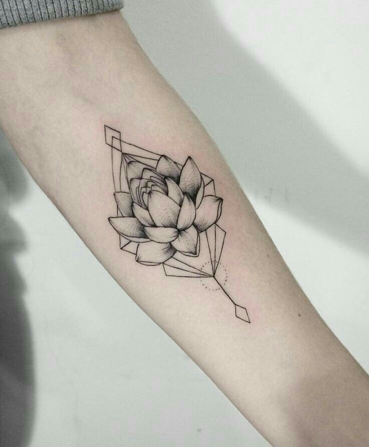 Gorgeous! If the lotus were brightly colored, I'd be incredibly happy with it. I still can't decide if I should position it vertically on my upper arm (like this) or horizontally; you can use your best judgement. I'd also want it a little larger than it is here.