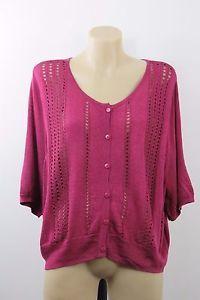 Plus Size 4XL 22 Autograph Ladies Knit Top Cardigan Shrug Chic Casual Boho Style  | eBay