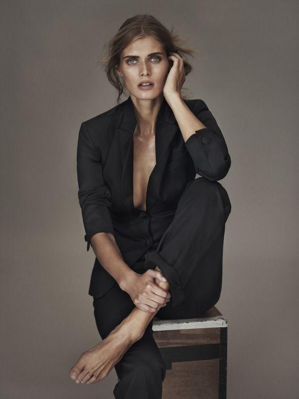 Malgosia Bela by Josh Olins for Vogue UK