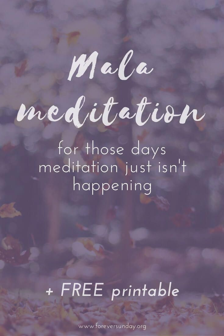 Mala Meditation Meditation For Those Days Meditation Just Isn T