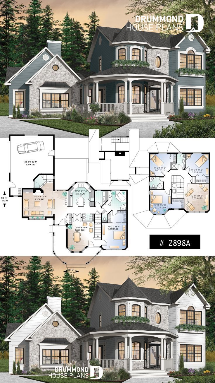 Victorian House Plan 4 Bedroom Flooring Piclodge In 2020 Victorian House Plans House Blueprints Sims 4 House Building