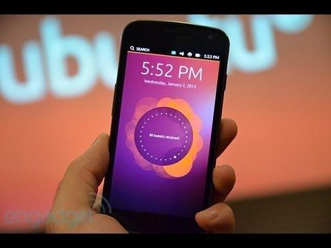 Ubuntu On A Galaxy Nexus - Engadget Hands On Review