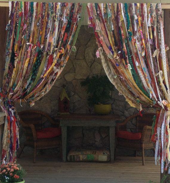 Best 25 Gypsy Curtains Ideas On Pinterest: Bohemian Curtains, Boho Curtains And Scarf Curtains