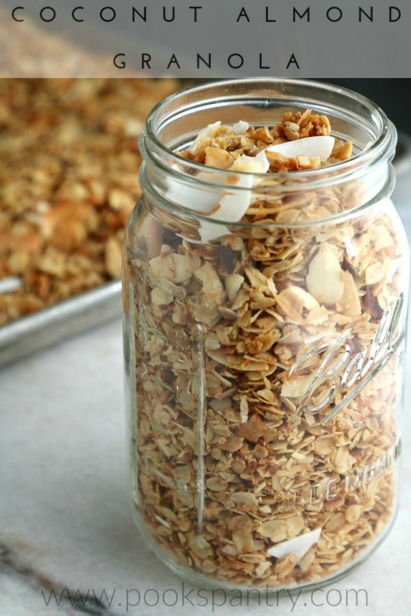 Healthy Granola Recipe Coconut Recipes Granola