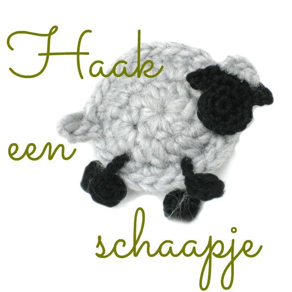 Schaap. Free pattern in Dutch