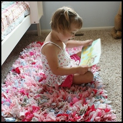 Rag Rug - the picture that started my obsession with finding the perfect rag rug... or making my own