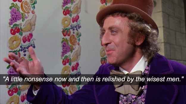 Wise Beyond Your Years Quotes: Willy Wonka Poetic Quotes. QuotesGram