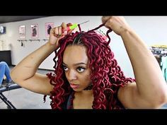 Watch Me SLAY These Wavy CROCHET FAUX LOCS! DETAILED TUTORIAL - YouTube #WeaveHairstylesBraids