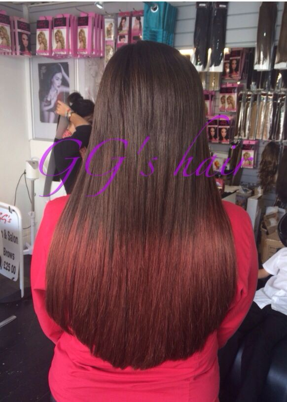 Beauty works hair extensions! Stunning ombré hair available at GG's plymouth! Call us on 01752 564639 to book in www.ggsalon.co.uk