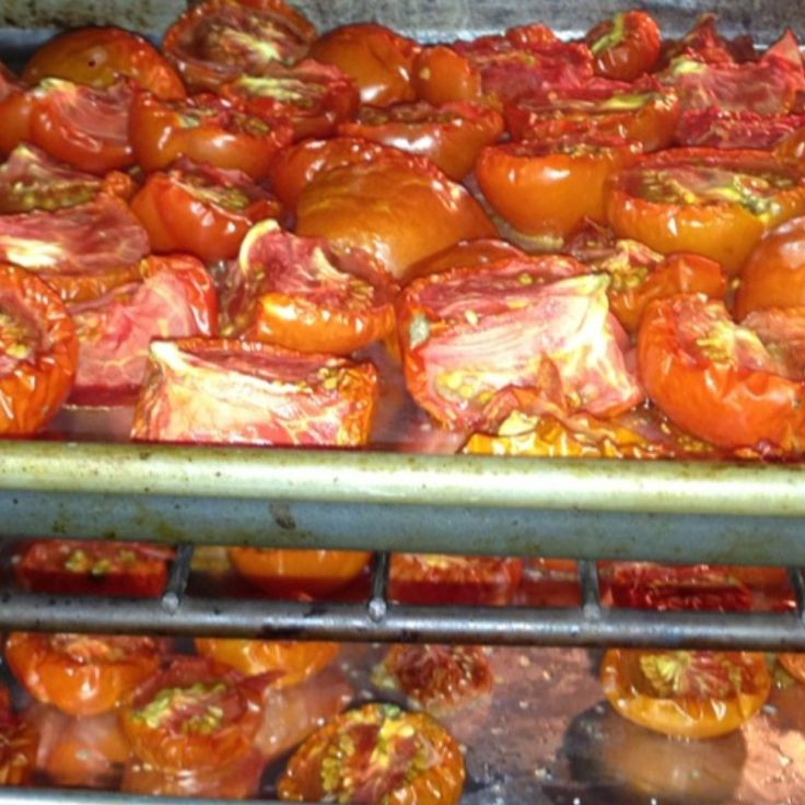 Oven-Roasted Tomatoes | Playing with Food | Pinterest