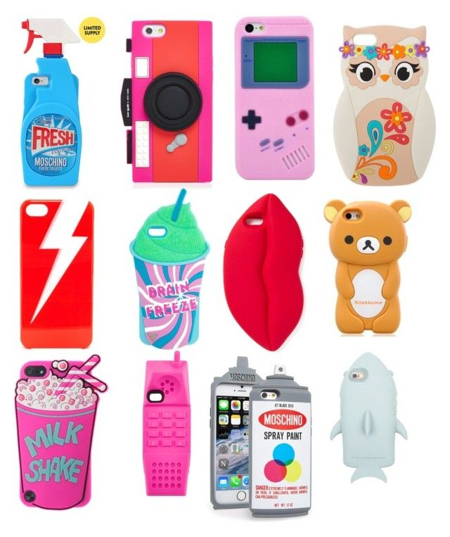 """Most amazing phone cases"" by destinee-rednour on Polyvore featuring Kate Spade, Moschino, ban.do and STELLA McCARTNEY"