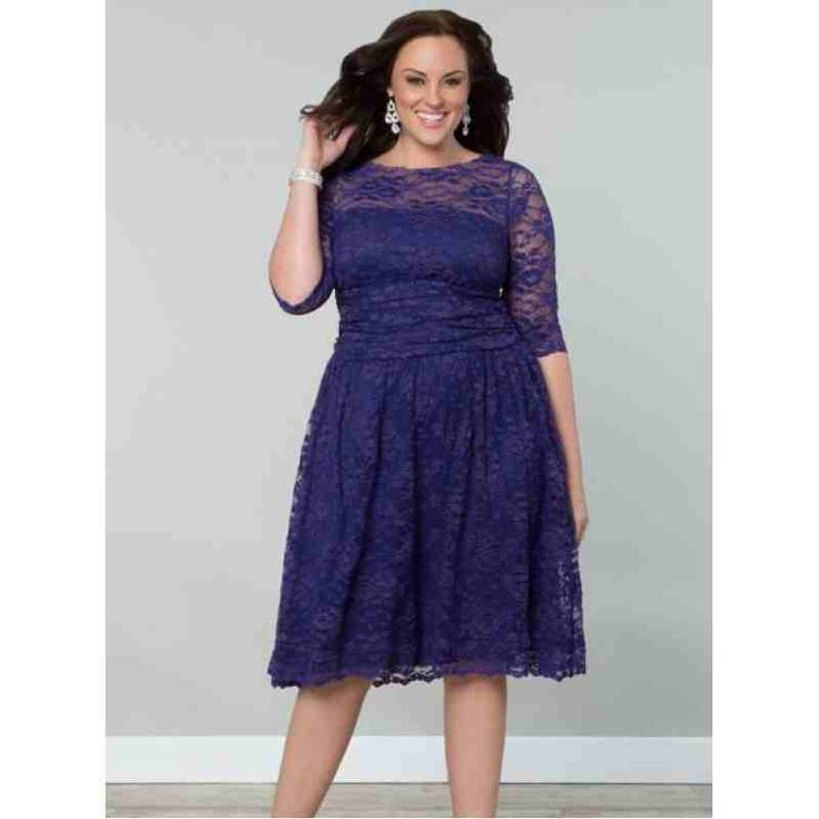 Scalloped Luna Lace Dress (Ultraviolet) $74.00 http://www.curvyclothing.com.au/index.php?route=product/product&path=59_61&product_id=770