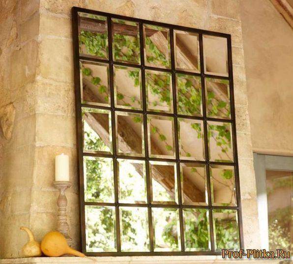 Зеркальная плитка. Примеры зеркальной зеркальной плитки в интерьере - фото -639