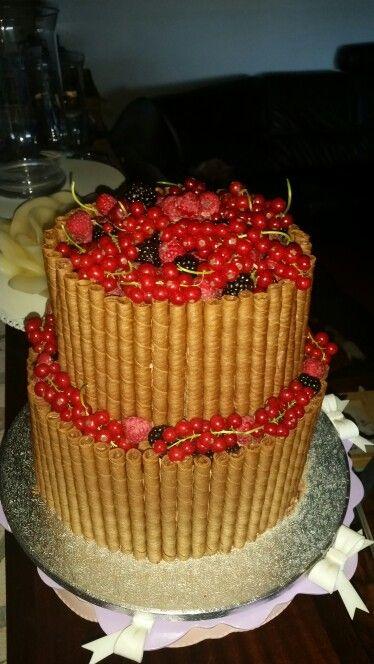 Cigarillos cake