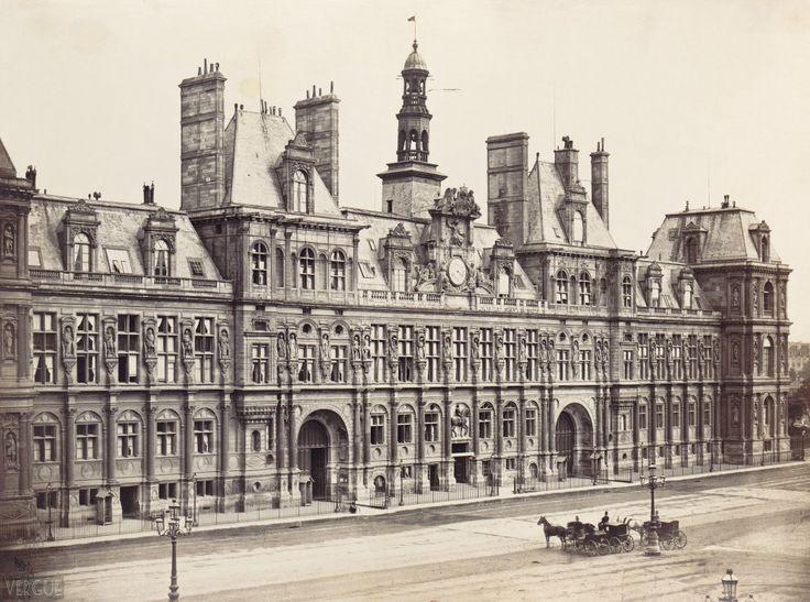 Hôtel de Ville Paris IV ème 1865
