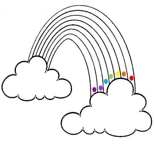 regenbogen malvorlagen in 2020  ausmalbilder wenn du mal