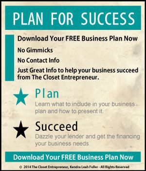 Free Business Plan Template Example